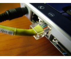 Не работает проводной интернет